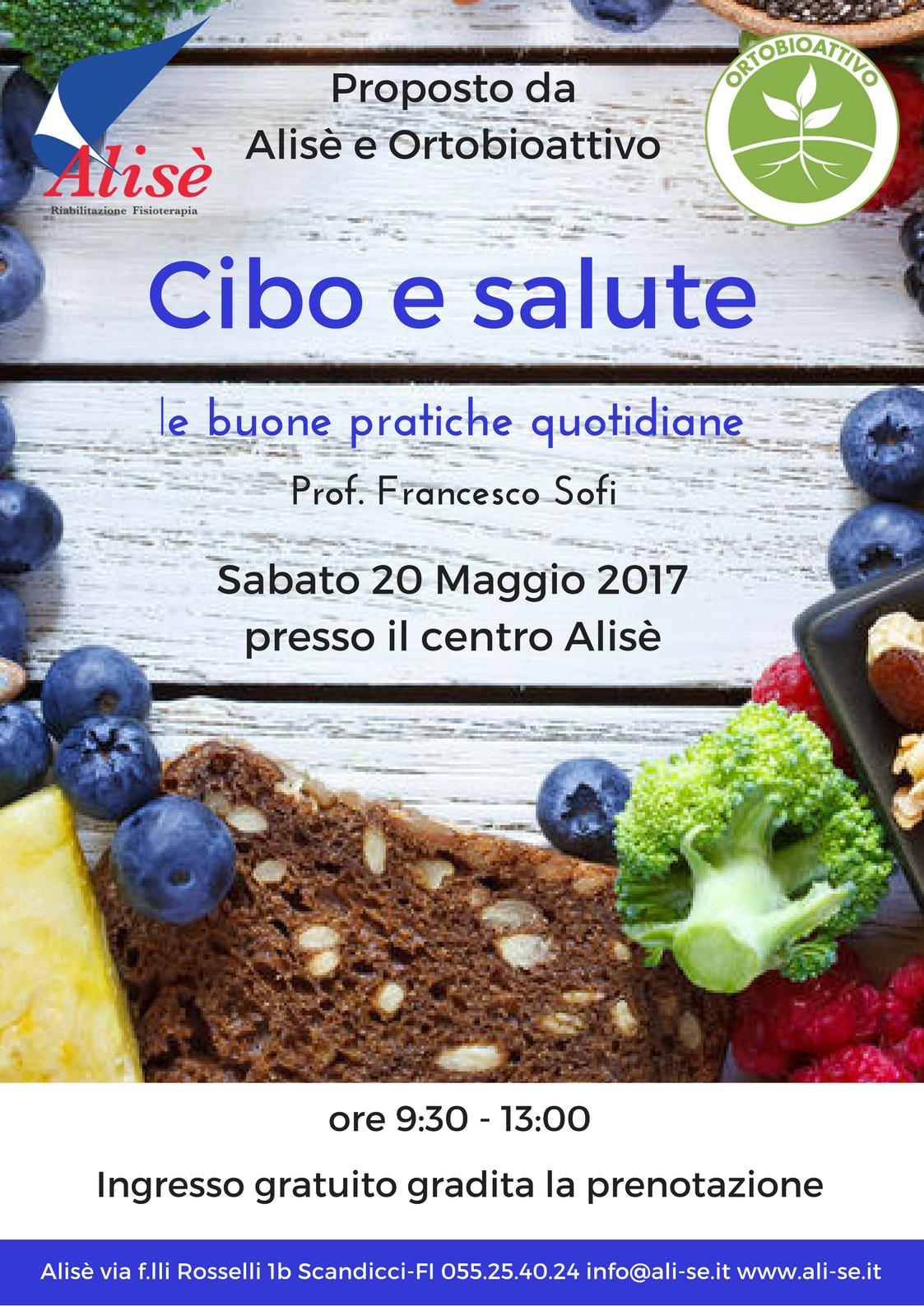 Locandina_Invito_Cibo_e_Salute_Sofi_Alisè