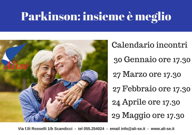 Parkinson: Insieme è meglio
